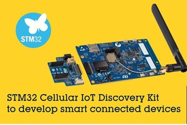STMicroelectronics releases Cellular IoT Discovery Kit